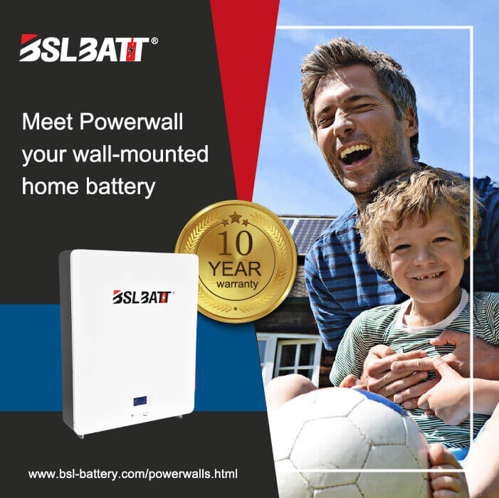2020 Best Home Solar Battery Backup | BSLBATT Lithium